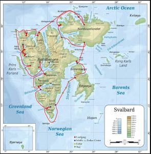 2016_Spitsbergen_Antigua_Route_Map